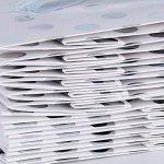 (15 x 14 x 7cm)12PCS Pochettes Sac à Pois Argenté avec Poignées Sac d'Épicerie à Fond Plat pour Sandwich Nourriture Semesces Deco Mariage Fete de la marque DEOMOR image 4 produit