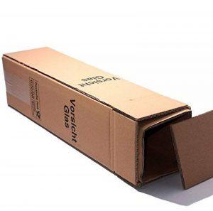 20x carton d'expédition vin cadeau pour 1bouteille DHL et UPS certifié–1carton–1Douille–1couvercle de la marque Unbekannt image 0 produit