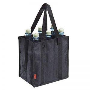 achilles®®, Bottle Bag 6, adb06bl, poche Bouteille pour 6bouteilles, noir, 25cm x 17cm x 27cm de la marque achilles® image 0 produit