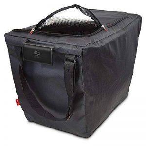 achilles Easy-Freezer, Sac de panier pliable, Sac isotherme, Sac à provisions en noir 54x35x39 cm de la marque achilles concept image 0 produit