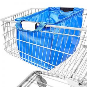 achilles Easy Shopper, sac shopping pliable, sac shopping adapté à tous les paniers, sac en bleu royal, 54x35x39 cm de la marque achilles® image 0 produit