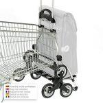 Andersen, Caddie de courses - Chariot de courses Royal Alba noir/Châssis aluminium/volume: 48 l/Poche isotherme/couronne à 3 roues/Made in Germany de la marque Andersen Shopper Manufaktur image 4 produit