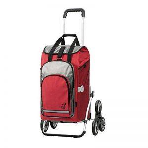 Andersen, Chariot de courses Royal Hydro rouge | couronnes à 3 roues | volume 56L | poche isotherme | Made in Germany de la marque Andersen Shopper Manufaktur image 0 produit