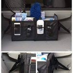 Auto Premium Trunk Organiser-car Oranizer par Tuff Viking avec une extrême 11 poches, intercalaire amovible, extensible poches latérales, pliable, fond renforcé, intérieur et étanche (Noir/rouge) de la marque Tuff Viking image 3 produit