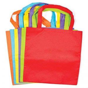Baker Ross Sac Cabas en Tissu Coloré Que Les Enfants et Les Adultes pourront Décorer et Personnaliser (Lot DE 6) de la marque Baker Ross image 0 produit