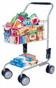 Bayer Design 75000s - Jeu D'imitation - Commerçant - Chariot De Supermarché Avec Différentes Boîtes - 58 Cm de la marque Bayer Design image 0 produit