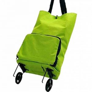 Baymate Chariot De Courses Pliable 2 Roues Sac Shopping avec Poulie Sac Bagage Portable de la marque Baymate image 0 produit