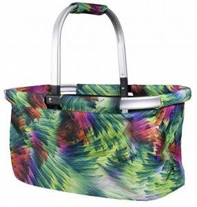 BETZ Cabas panier à provision sac pliant RIO taille: 46x29x23cm couleur au choix color vert de la marque BETZ image 0 produit