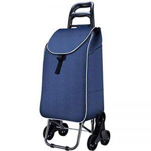 BHXUD Trolley Chariot D'escalier Grimpeur Bleu Chariot Pliable Chariot De Traction 6 Roues Roulant de la marque BHXUD image 0 produit