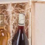 Boîte cadeau de bouteille de vin couvercle et fermeture pour 2 bouteilles de vin de la marque BARTU image 1 produit