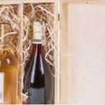 Boîte cadeau de bouteille de vin couvercle et fermeture pour 3 bouteilles de vin de la marque BARTU image 4 produit
