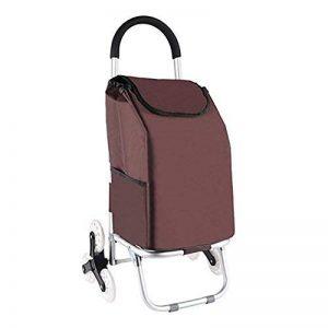 Cabaf Chariot Dolly, Escalier d'escalade roulant Courses Pliable panier 6 Roues de la marque JXA image 0 produit