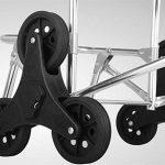 Cabaf Panier Escalier d'escalade roulant commercial polyvalent Blanchisserie Utilitaire Chariot avec siège de la marque JXA image 2 produit
