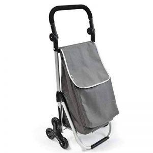 caddie de courses monte escalier bremermann chariot de courses (gris) de la marque bremermann® image 0 produit