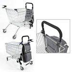 caddie de courses monte escalier bremermann chariot de courses (gris) de la marque bremermann® image 3 produit