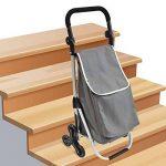 caddie de courses monte escalier bremermann chariot de courses (gris) de la marque bremermann® image 4 produit