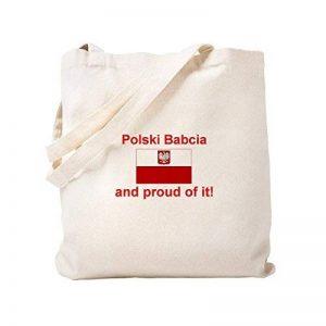 CafePress–Polish Babcia (grand-mère)–Naturel Sac en toile, tissu, Sac de courses Cabas S kaki de la marque CafePress image 0 produit