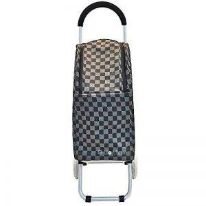 CHARIOT DE COURSES Bo Time - Sac 27L avec tissu quadrillé de haute qualité - Désigné spécialement pour les femmes de la marque Bo Time image 0 produit
