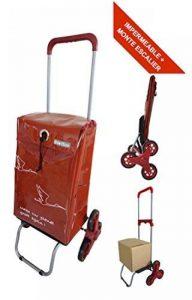 Chariot de courses imperméable et Monte Escalier - Poignée Télescopique – Capacité 44L - Marque Bo Time de la marque Bo Time image 0 produit