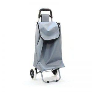 Chariot de marché uni gris de la marque JJA image 0 produit