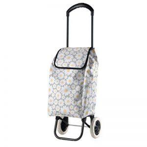 Chariot Panier de courses à roulettes roller Shopper Sac Cabas Panier Motif floral de la marque Selltex image 0 produit