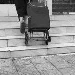 Chariots de courses Panier, Escaliers Acheter épicerie Cart_360 ° Panier Pliant Rotatif, Panier d'achat de Home_Outdoor Peut Prendre, Peut Tirer Les Marchandises, Peut Supporter 30KG de la marque Chariots de courses image 3 produit