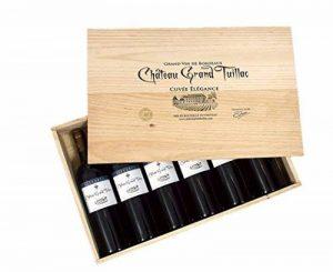 Château Grand Tuillac Cuvée Elégance 2014 - Coffret bois de 6 bouteilles de la marque Château Grand Tuillac image 0 produit