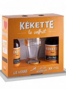 Coffret KEKETTE 1 verre + 2 bouteilles Kekette de la marque Kekette image 0 produit