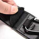 Crochets de poussette Mousquetons Stroller Hooks clips 4pcs Universelles pour accrochez vos achats sacs cabas sur un landau Universel Noir de la marque Eizur image 1 produit