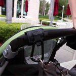 Crochets de poussette Mousquetons Stroller Hooks clips 4pcs Universelles pour accrochez vos achats sacs cabas sur un landau Universel Noir de la marque Eizur image 4 produit
