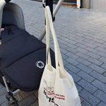Crochets de poussette par EZ-Bugz. Mousquetons/clips pour accrochez vos achats, sacs et cabas sur un landau. Universel, Noir, Pack de 2 de la marque EZ-Bugz image 3 produit