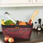 DAILYDREAM® colorée, pliable sac de courses, panier de marché (46x28x22cm) de la marque DAILYDREAM image 1 produit