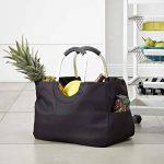 DAILYDREAM® Sac panier, sac de courses, panier de marché en noir, taille L de la marque DAILYDREAM image 1 produit