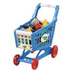 deAO Panier d'Achat Alimentaires - Caddie et Accessoires Inclus (Bleu) de la marque deAO image 4 produit