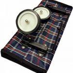 Deluxe Sac à provisions sur roulettes pliable léger avec poche avant et fermeture Éclair de la marque Essential Products image 4 produit