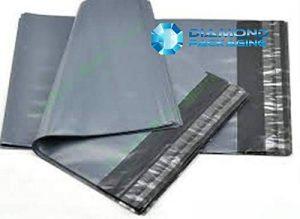 Dhoole Lot de 100 sacs d'expédition en plastique Gris de la marque Dhoole image 0 produit