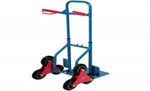 Diable ultra résistant 3roues pour monter trottoirs et escaliers Chariot diable pliant Chariot d'escalade de la marque Dirty Pro Tools UK image 0 produit