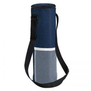 eBuyGB Sac isotherme pour bouteille - Avec sangle- Pour le transport de boissons pour un pique-nique - Refroidisseur de vin - Bleu marine de la marque eBuyGB image 0 produit