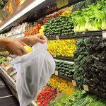 EKKONG Filet à Sacs Réutilisables pour Stocker Les Fruits et Légumes, Produire des Sacs,Lot DE 12,Sacs de légumes en Sachet de Mousseline Garder Frais, Sac de Fruits et légumes, 3 Tailles (12pcs) de la marque EKKONG image 3 produit