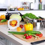 EKKONG Filet à Sacs Réutilisables pour Stocker Les Fruits et Légumes, Produire des Sacs,Lot DE 12,Sacs de légumes en Sachet de Mousseline Garder Frais, Sac de Fruits et légumes, 3 Tailles (12pcs) de la marque EKKONG image 1 produit