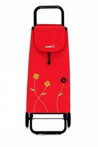 GARMOL 230G2FB C654Poussette de Marché 2Roues, Tissu, Rouge, 39x 30x 102cm de la marque GARMOL image 0 produit