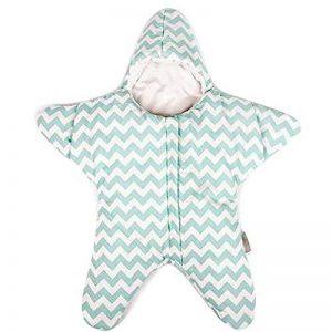 Gigoteuse bébé hiver nouveau né à pieds Coton Manches Longues -garcon Fille pyjama enfant confort combinaison Étoile de mer de la marque Happy Dream image 0 produit