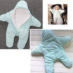 Gigoteuse bébé hiver nouveau né à pieds Coton Manches Longues -garcon Fille pyjama enfant confort combinaison Étoile de mer de la marque Happy Dream image 4 produit