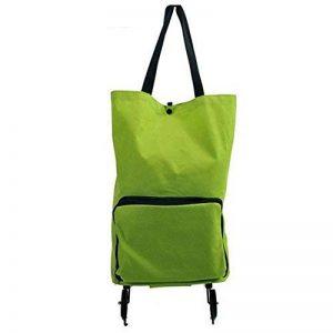 Gosear Cabas Shopping Shopping Cart de 2 Roues pour Chariot à Bagages,Pliable de la marque Gosear image 0 produit