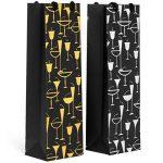 Haute Soiree Sacs-Cadeaux de vin Haut de Gamme - Paquet DE 12 de la marque Haute Soiree image 2 produit