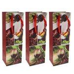 Homyl Lot de 12pcs Sacs Cadeau Bouteille en Papier Design Banquet avec Poignées (Chaque Modèle 3 Pièces) de la marque Homyl image 4 produit