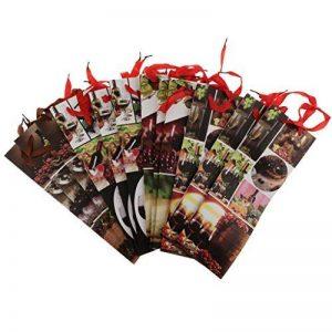 Homyl Lot de 12pcs Sacs Cadeau Bouteille en Papier Design Banquet avec Poignées (Chaque Modèle 3 Pièces) de la marque Homyl image 0 produit