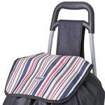 Hoppa 47litre pliage sac léger Shopping chariot sur roues (Noir ST90) de la marque Hoppa image 3 produit