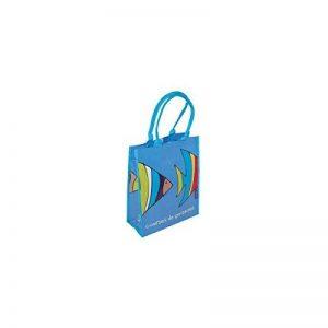 Incidence Paris 61209 Cabas Porte Epaule Poisson Plastique Bleu 32 x 15 x 40 cm de la marque Incidence Paris image 0 produit