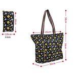 ISABELLE Sac de courses sac shopping cabas pliable en tissu Oxford de la marque LA HAUTE image 2 produit